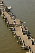 Floods Photos - Hurricane Katrina Destroyed This by Everett