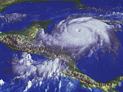 Mitch Prints - Hurricane Mitch Print by Nasagoddard Space Flight Center