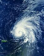 Padre Art - Hurricane Ophelia Near Puerto Rico