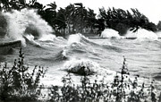 Heavy Weather Prints - Hurricane Waves Print by Science Source