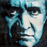 Johnny Cash Prints - Hurt Print by Paul Lovering