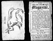 Pamphlet Posters - Husbandmans Magazine, 1718 Poster by Granger