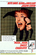 1960s Poster Art Posters - Hush...hush, Sweet Charlotte, Center Poster by Everett