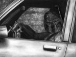 Smoking Drawings - Hustle and Fett by Ryan Jones
