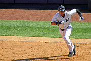 Jeter Photos - Hustle by Mitch Cat