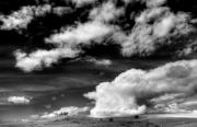 Conversion Prints - HWY 16 Skyscape Print by Norman  Andrus