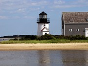 Sail Fish Prints - Hyannis Port Lighthouse Print by Annie Zeno