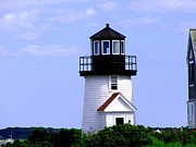 Sail Fish Prints - Hyannis Port Lighthouse Close Up Print by Annie Zeno