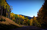 Santa Fe National Forest Photos - Hyde Park Road Autumn by Aaron Burrows