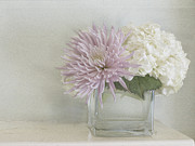 Cindy Garber Iverson - Hydrangea and mum