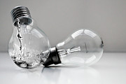 Light Bulb Photos - Hydro Electric by Image by Catherine MacBride
