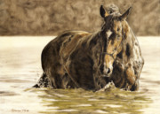 Arabian Paintings - Hydrotherapy by Simona Tarakeviciute