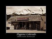 General Stores Framed Prints - Hygiene Colorado BW Fine Art Photography Print Framed Print by James Bo Insogna