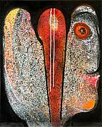 Cosmic Painting Originals - Hymn In Eternity by Victor Vijay Kumar