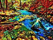 Dappled Light Photos - Hyper Childs Brook Z 5 by George Ramos