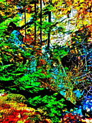 Dappled Light Digital Art - Hyper Grafton 32 by George Ramos