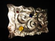 Steel Glass Art - Hypnosis by Dawn  Johnson