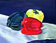 Pepper Paintings - I am a pepper too by Paula Pagliughi