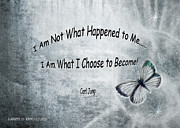 Realization Digital Art - I am not what happened to me by Laurel D Rund