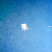 Cloud Prints - I Am One Print by Violet Damyan