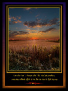 Inspirational Poster Framed Prints - I Am Framed Print by Phil Koch