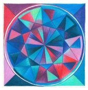 Circle Pastels Originals - I Am So Grateful by Ulla Mentzel