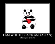 Ausra Paulauskaite - I Am White Black Asian....