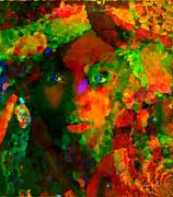 I Am Who I Am Print by Fania Simon