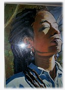 Excellence Painting Prints - I am woman Print by Michael Mahue Moore
