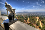 Griffith Park Prints - I can see LA Print by Jessica Velasco