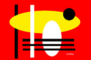 Bauhaus Photo Prints - I Ching 6 Print by Doug  Duffey