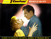 Couple In Arms Posters - I Confess, Anne Baxter, Montgomery Poster by Everett