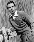 Films By Alfred Hitchcock Metal Prints - I Confess, Montgomery Clift, 1953 Metal Print by Everett