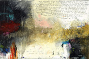 Contemporary Mixed Media - I Corinthians 13 by Michel  Keck