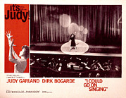 1963 Posters - I Could Go On Singing, Judy Garland Poster by Everett