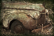 Abandoned Cars Prints - I Could Use A Push Print by John Stephens