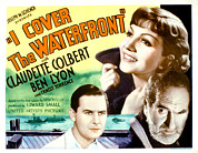 Overcoat Framed Prints - I Cover The Waterfront, Ben Lyon Framed Print by Everett