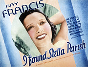 1935 Movies Prints - I Found Stella Parish, Kay Francis, 1935 Print by Everett