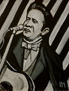 Sun Studios Painting Originals - I Got Stripes by Pete Maier