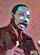 Orator Framed Prints - I have a dream Framed Print by Harold Egbune