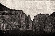 I Have Climbed  A Mountain Print by Venura Herath