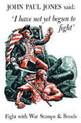 Patriotic Framed Prints - I have Not Yet Begun To Fight Framed Print by War Is Hell Store