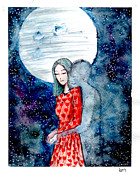 Katchakul Kaewkate Prints - I Hear You Print by Katchakul Kaewkate