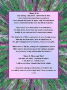 Healing Posters Digital Art Framed Prints - I Hope To Be - 1 Framed Print by  Laurie Homan