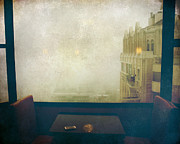 Window Seat Prints - I Just Sat There Staring Out At The Fog Print by Laurie Search