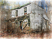 Abandoned House Photos - I Knew A Man by Kathy Jennings