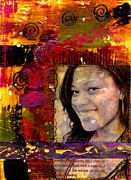 Therapy Mixed Media Prints - I Like COLORS   What About You Print by Angela L Walker