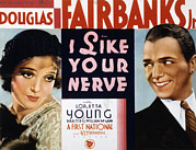 Loretta Posters - I Like Your Nerve, Loretta Young Poster by Everett