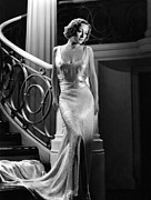Evening Gown Photos - I Live My Life, Joan Crawford Wearing by Everett