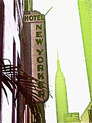 I Love New York Print by Beth Saffer